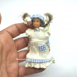 Kristen Peterson девочка с косичками, миниатюра 1:12
