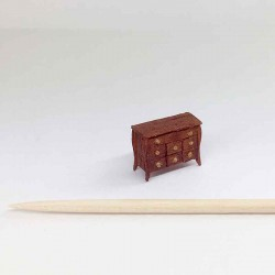 Комод, миниатюра 1:144