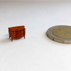 Комод в масштабе 1:144, миниатюра 1:144