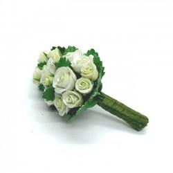 Букет белых роз, масштаб 1:12