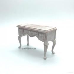 Стол в стиле прованс, кукольная миниатюра 1:12