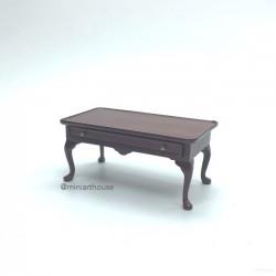 Кофейный столик, кукольная миниатюра 1:12