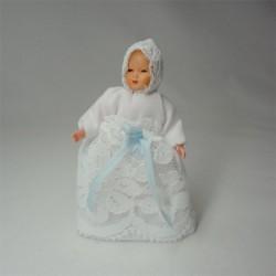 Кукла Малыш, миниатюра 1:12