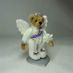 Shimmering bear Коллекционный мишка, ручная работа
