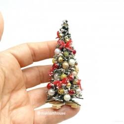 Елочка новогодняя, миниатюра 1:12