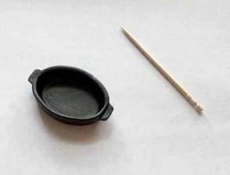 Форма для запекания, миниатюра 1:12