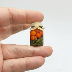 Огурцы и помидоры. Соленья, миниатюра 1:12