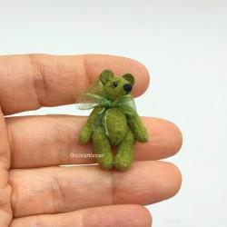Мишка Тедди  Vintage green, миниатюра