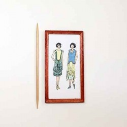 Постер Мода, миниатюрный постер 1:12