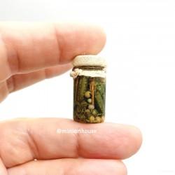 Огурцы маринованные, кукольная миниатюра 1:12