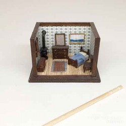 Румбокс Спальня, масштаб 1:144