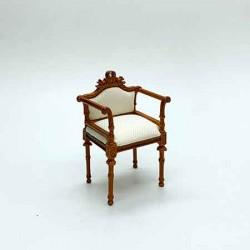 Кресло, кукольная миниатюра 1:12