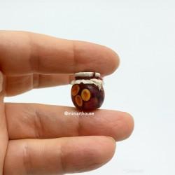 Слива, компот, миниатюра, масштаб 1:12