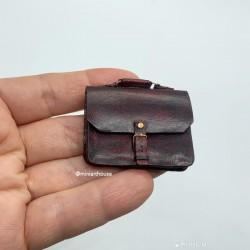 Портфель с ручкой, миниатюра 1:12