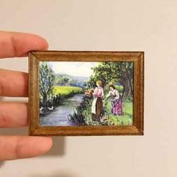 Девушки у реки, постер, миниатюра 1:12