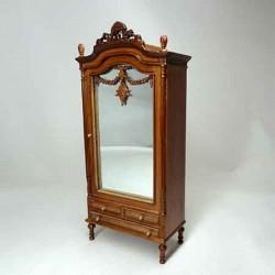 Шкаф с зеркалом, масштаб 1:12