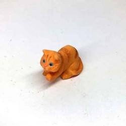 Котик рыжий играет, миниатюра 1:24