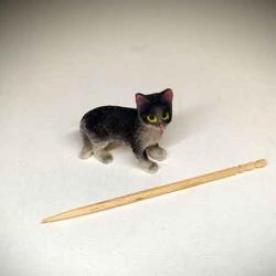Котенок, кукольная миниатюра