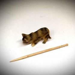 котик, кукольная миниатюра