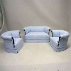 Комплект мягкой мебели, масштаб 1:12
