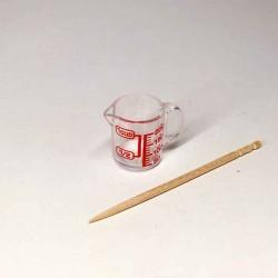 Мерный стаканчик, миниатюра 1:12
