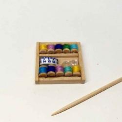 Набор для шитья, кукольная миниатюра