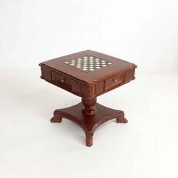 Шахматный столик, кукольная миниатюра 1:12