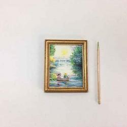 Катание на лодке, постер, миниатюра, масштаб 1:12