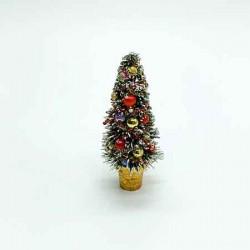 Новогодняя елочка, настольная, кукольная миниатюра