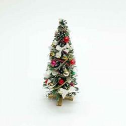 Новогодняя елка II, кукольная миниатюра 1:12