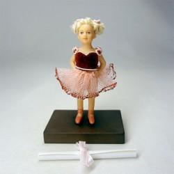 Кукла Балерина, миниатюра