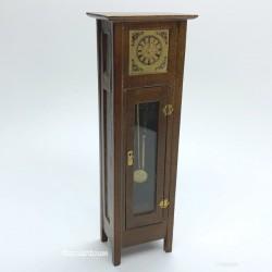 Часы напольные, кукольная миниатюра 1:12