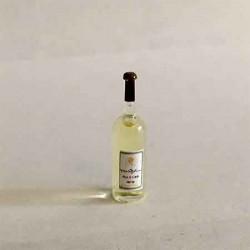 Бутылка белого вина, масштаб 1:12