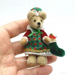 Holly Коллекционный мишка, ручная работа