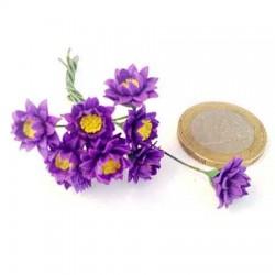 Лилия пурпурная, миниатюра, масштаб 1:12