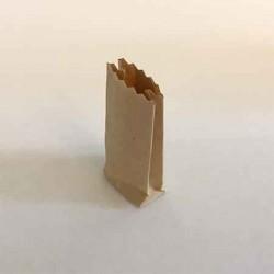 Пакет бумажный для продуктов, масштаб 1:12