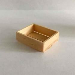 Ящик деревянный, масштаб 1:12