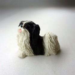Собака Японский хин, кукольная миниатюра
