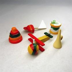 Набор деревянных игрушек, миниатюра 1:12