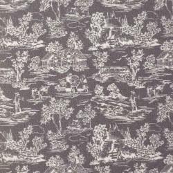 Ткань Toile Grey, масштаб 1:12