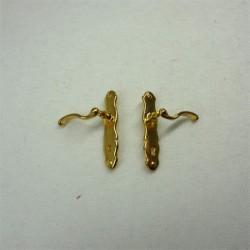 Дверная ручка, пара, масштаб 1:12