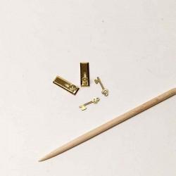 Комплект ручка дверная с ключами, масштаб 1:24