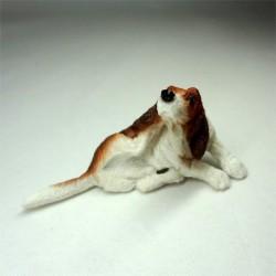 Собака Бигль, миниатюра 1:12
