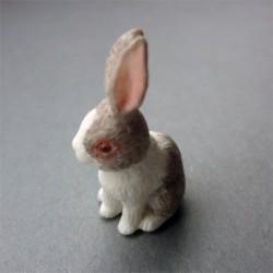 Кролик бежевый, масштаб 1:12