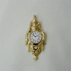 Часы настенные, миниатюра 1:12