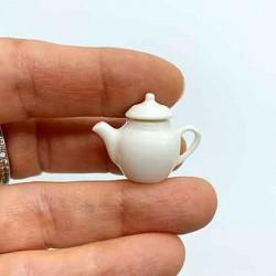 Чайник фарфоровый с крышкой, масштаб 1:12