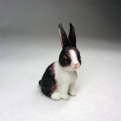Кролик в пятнышко, масштаб 1:12