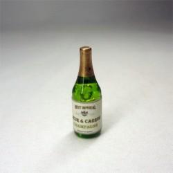 Бутылка шампанского, миниатюра