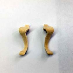 Ножки для стула. 2 шт, масштаб 1:12