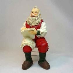 Кукла Санта Клаус, миниатюра 1:12